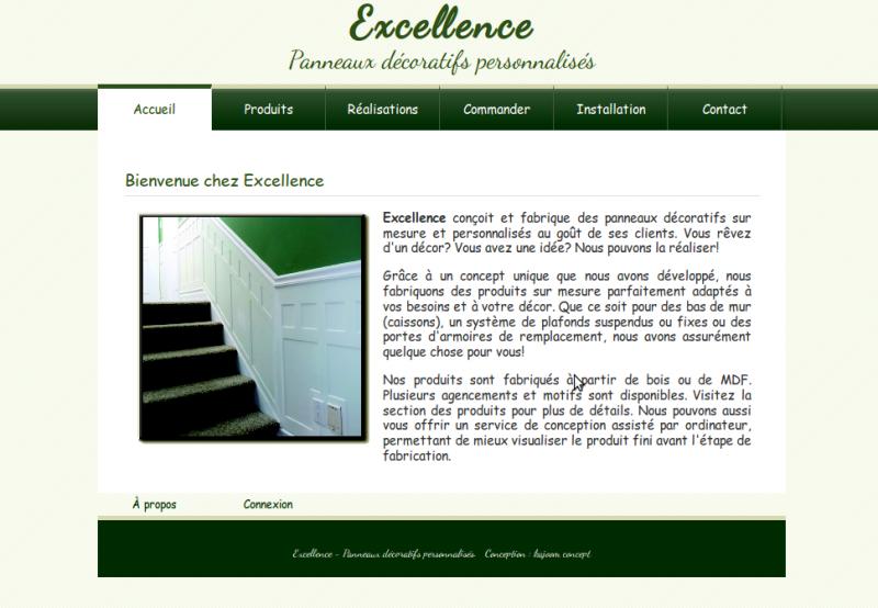 Excellence - Panneaux décoratifs personnalisés