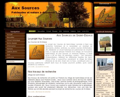 Aux Sources de Saint-Didace