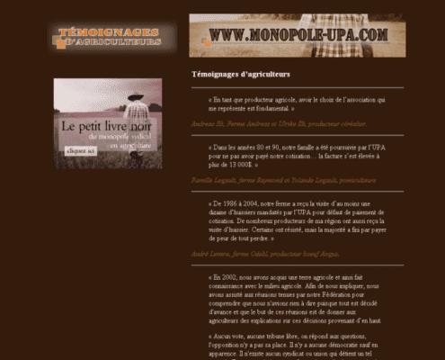 Monopole-UPA