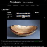 Pierre Lussier, tourneur sur bois