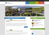 Accueil Ville Saint-Gabriel