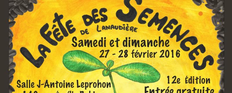 Site web de la 12e édition de la Fête des Semences de Lanaudière
