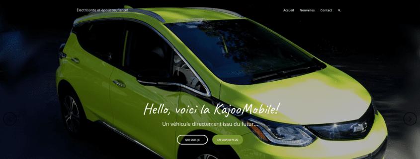 KajooMobile (accueil)