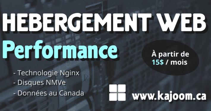 Hébergement Web Performance