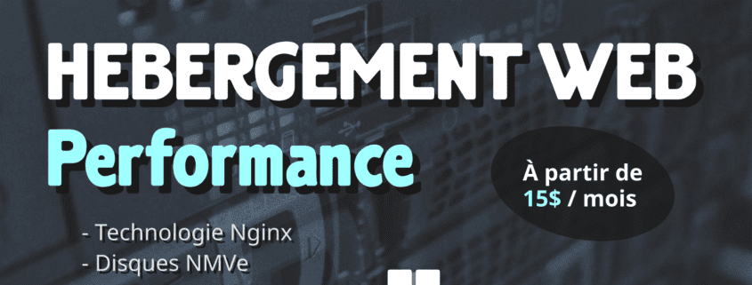Hébergement Web Performance-Pub